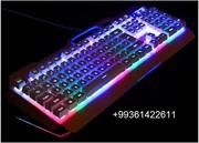 Игровые наушники мышки и клавиатуры