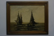 Antique Oil Painting,   MID7WW464 ,  1940,  Jansen Rudolf